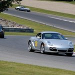 On the track with the Porsche Club
