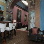 Bar of Castle Leslie
