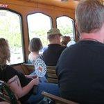 On board the Trolley