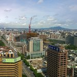 View from my room at W Taipei...new Taipei dome being constructed
