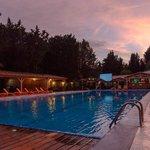 piscine nocturne chauffée