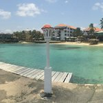 Panorama view Avila hotel from pier, withg iPhone 5S