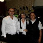 personnel sympathique du bar et du restaurant