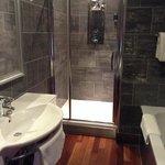 bathroom in Alpha room of Morgans
