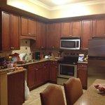 Kitchen in king unit