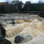 River after storm