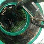 Flore Submarine base - Intérieur du sous-marin