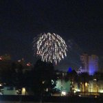 View of Fireworks from Our Deck