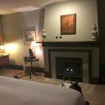 Chianti Suite Fireplace