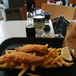 Fish & Chips & Local White Wine