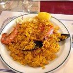 Porzione di paella de marisco 6 euro
