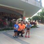Local Cristiano Ronaldo (animateam member) and our boys
