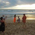 Proposal on Beach outside the La Palapa