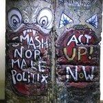 segment of Berlin Wall.