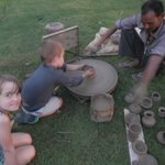 Kids pottery evening