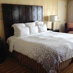 Bed from door