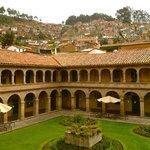 Hotel Monasterio (back courtyard)