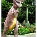 Tyrannosaurus Rex and Brachiosaurus