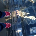 my toes suspended above the streets :0