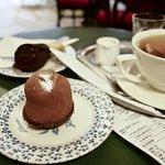 desserts and tea