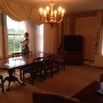 Parlor side of the parlor suite