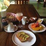 Sabroso y sanísimo desayuno
