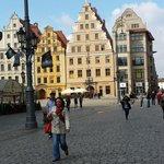 Beautiful historic Wroclaw