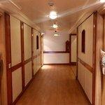 Corridor at VITS, Mumbai