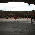 Hidden Beach (crowded) in Islas Marietas