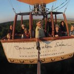 The Hot Air Balloon ride is a MUST!