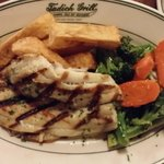 Grilled Petrale Sole