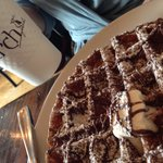Nutella waffle and Americana coffee - a perfect match!