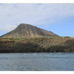 View of Koko Crater from Hanauma Bay