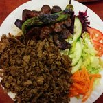 Shawarma with liver!! Yummy
