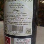 Vino Rioja Crianza para el menú