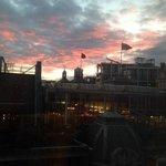 vista dalla camera al 6* piano sul Fifth Floor Harvey Nichols