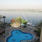 Nile View from Balcony