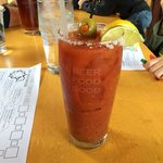 Great Bloody Mary! And good thin crust crispy pizzas too.
