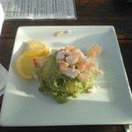 Guacomole w/Shrimp