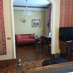 il salotto dellla suite
