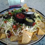 Nachos... too many for a light lunch but very nice