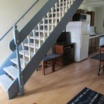 Stairs to second floor and bedrooms