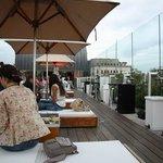 Unique Hotel - Roof terrasse