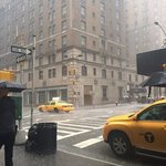 from just outside (was raining big - nyc style!)