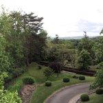 La vue sur le Parc de la chambre Prestige numéro 5.