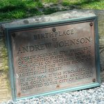 Andrew Johnson house marker