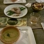Yummiest Pinda soup and Tuna fish ever....