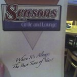 Season's - Menu cover