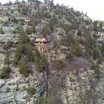 pueblo across the canyon