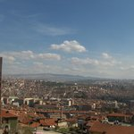 View over Ankara from the fort
